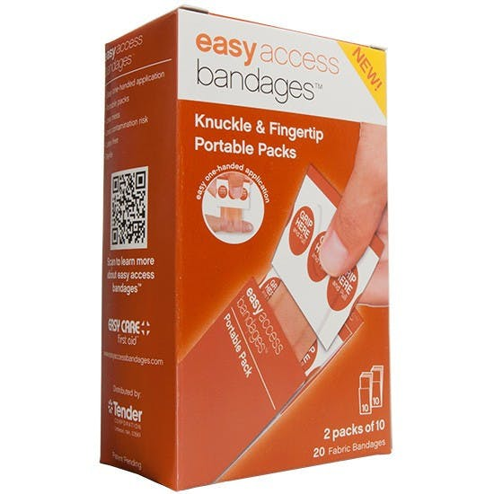 AMK - Easy Access Bandages Knuckle and Fingertip 20 Count