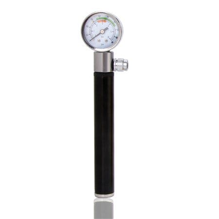 Bike Bicycle Pump with Gauge Portable Mini Air Inflator
