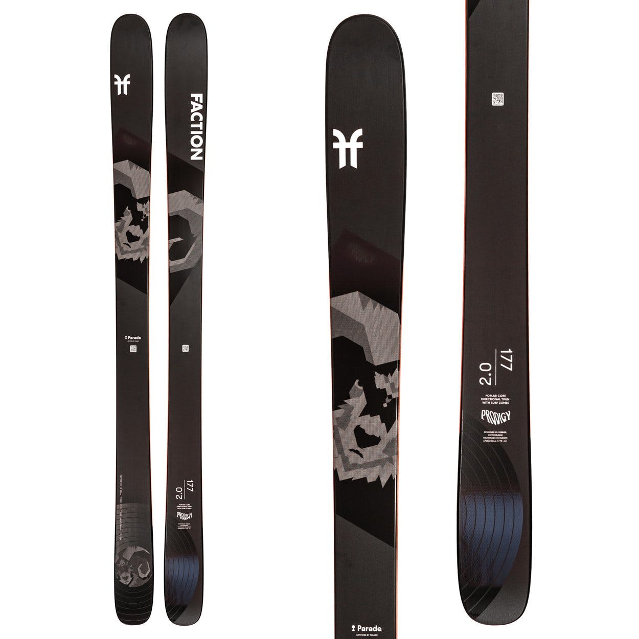 Faction Ski Prodigy 2.0 Skis · 2021