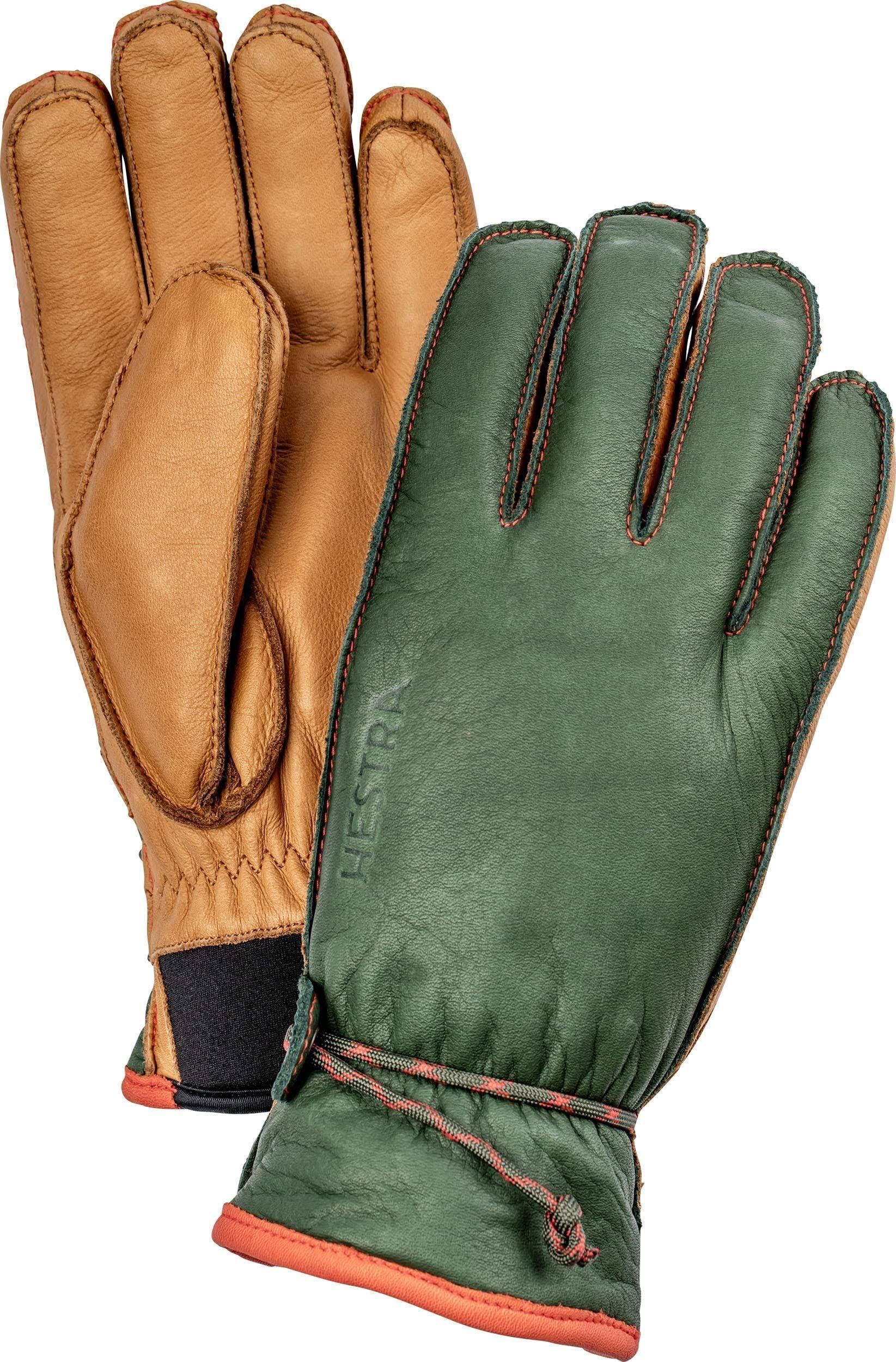Hestra Wakayama Gloves Forest/cork 8