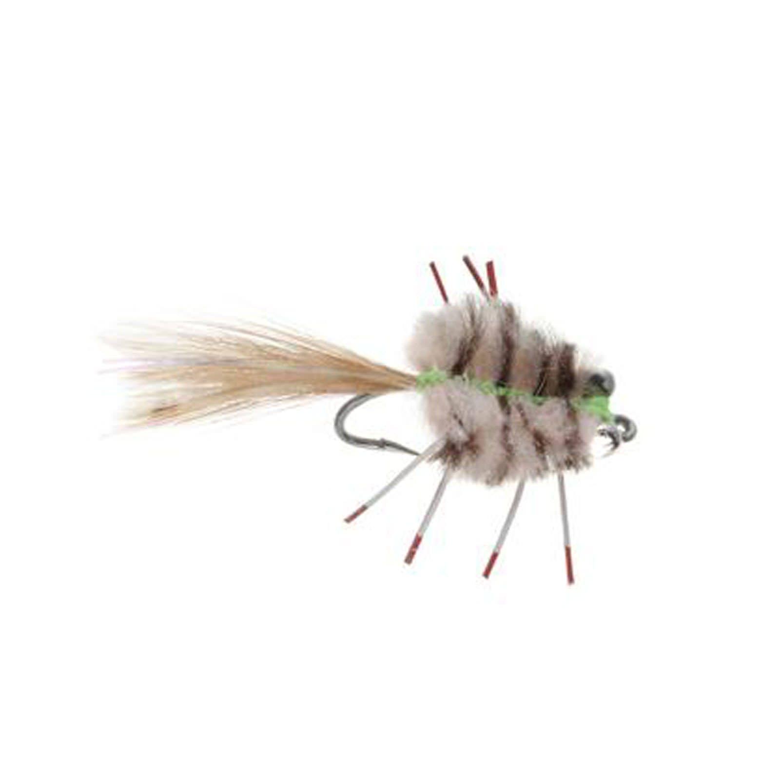 Umpqua Permit Crab Fly Tan/Brown 2