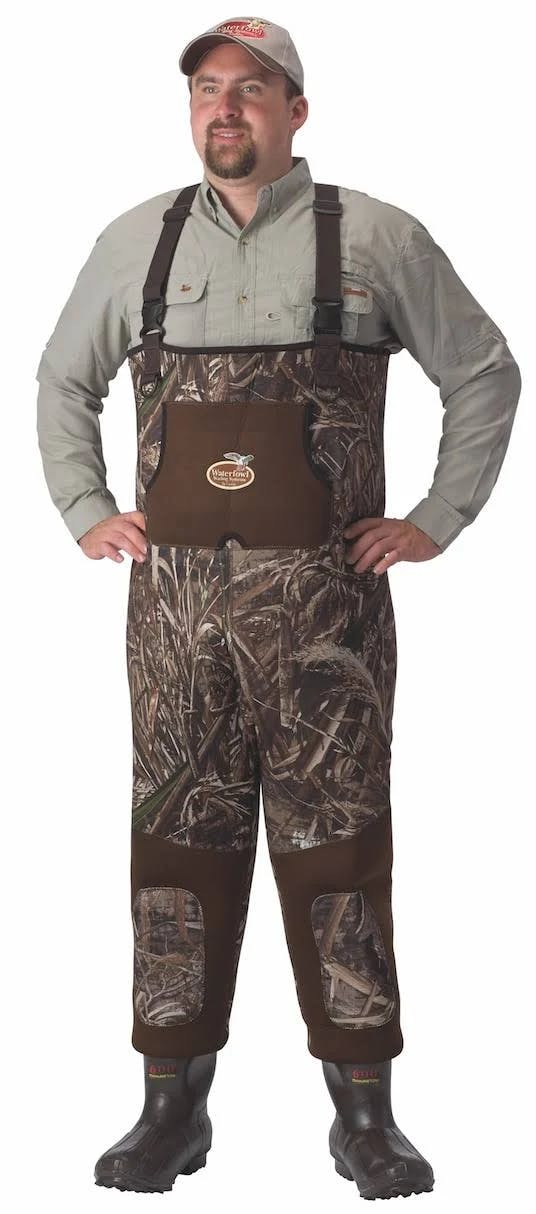 Caddis 3.5mm Max5 Neoprene Bootfoot Wader 600gr Size:12 WFW10901W-12