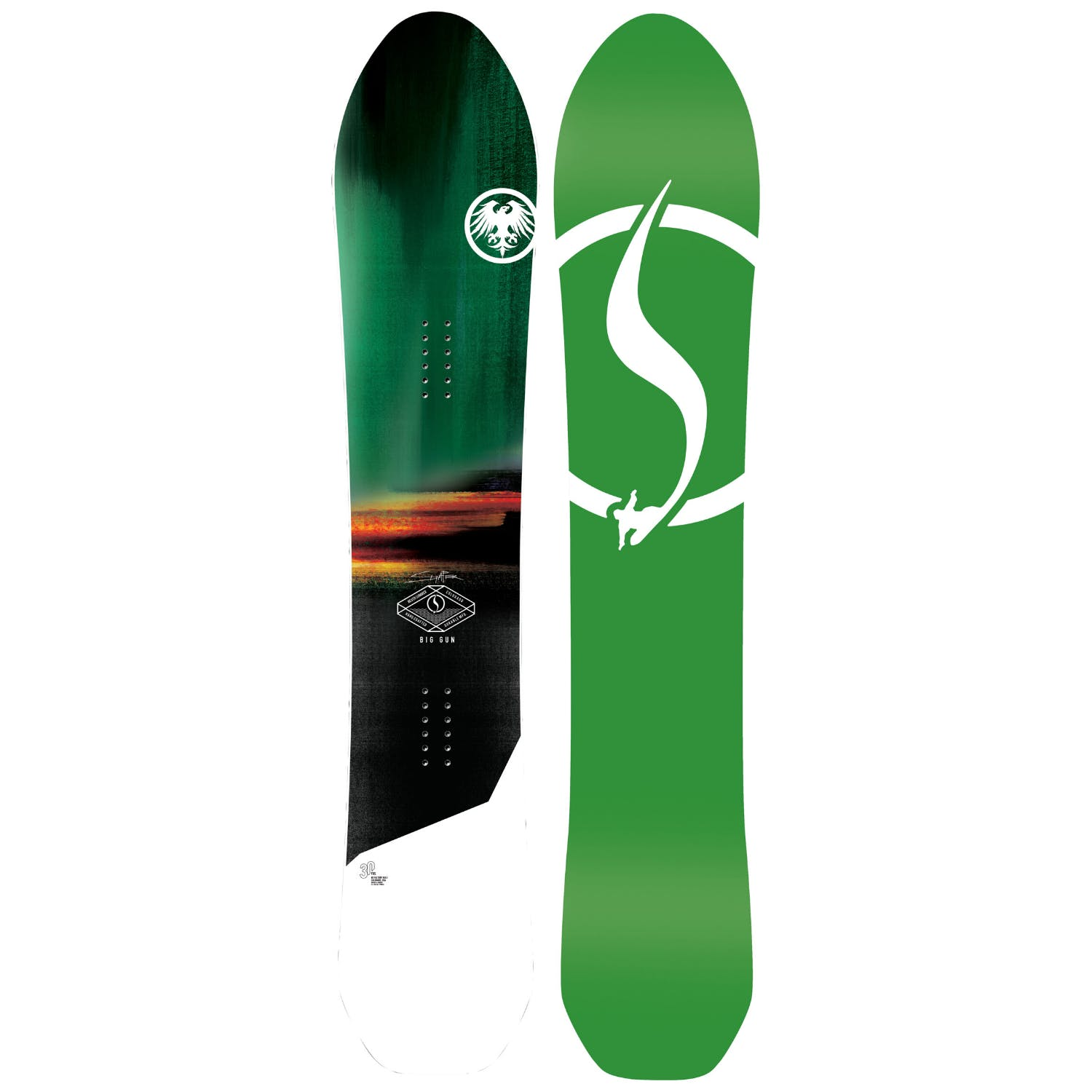 Never Summer Big Gun  Snowboard · 2021
