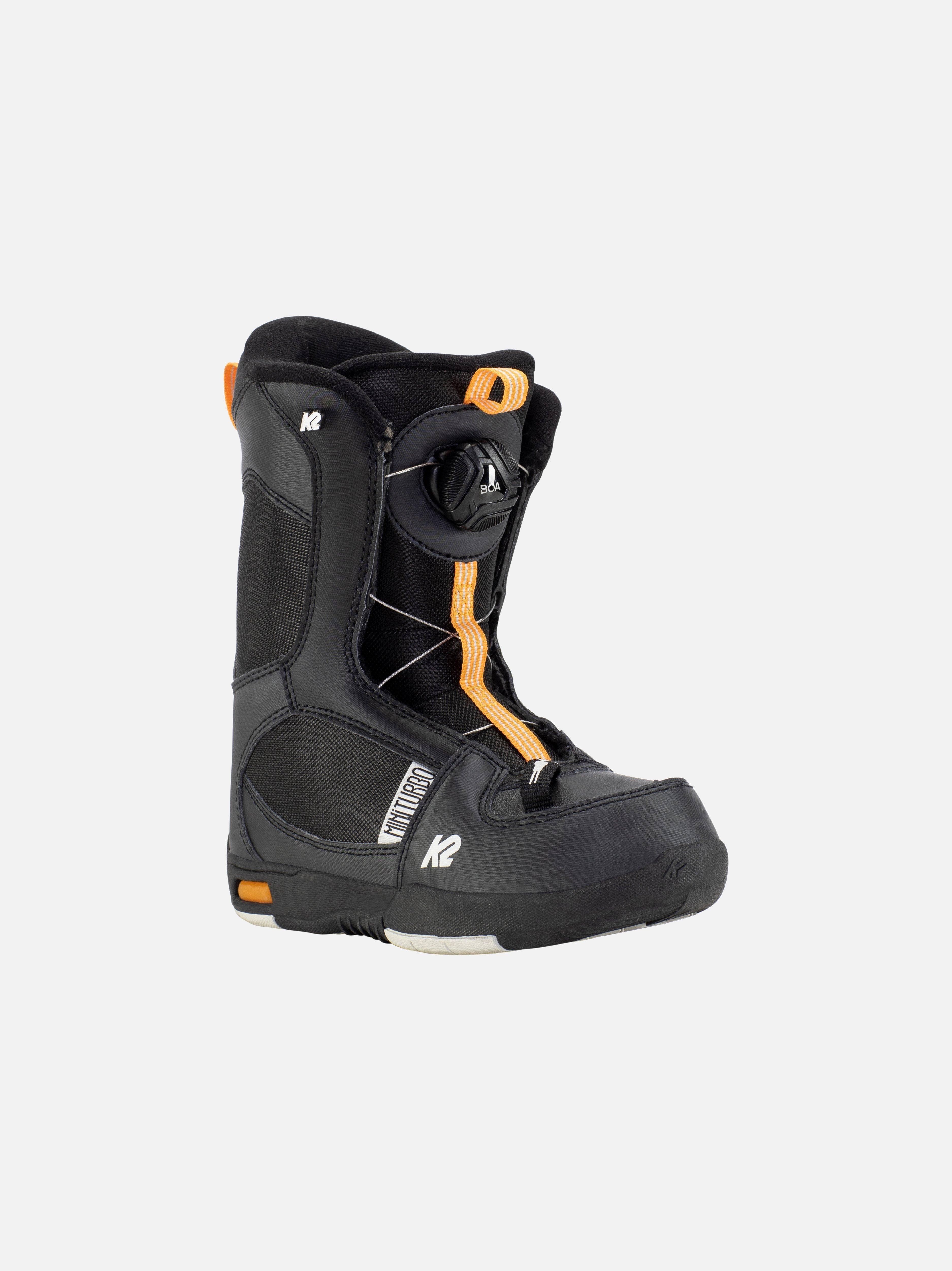 K2 Mini Turbo  Snowboard Boots 11k Snowboard Bindings · 2020