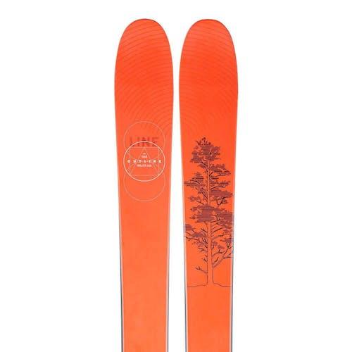Line Outline Skis