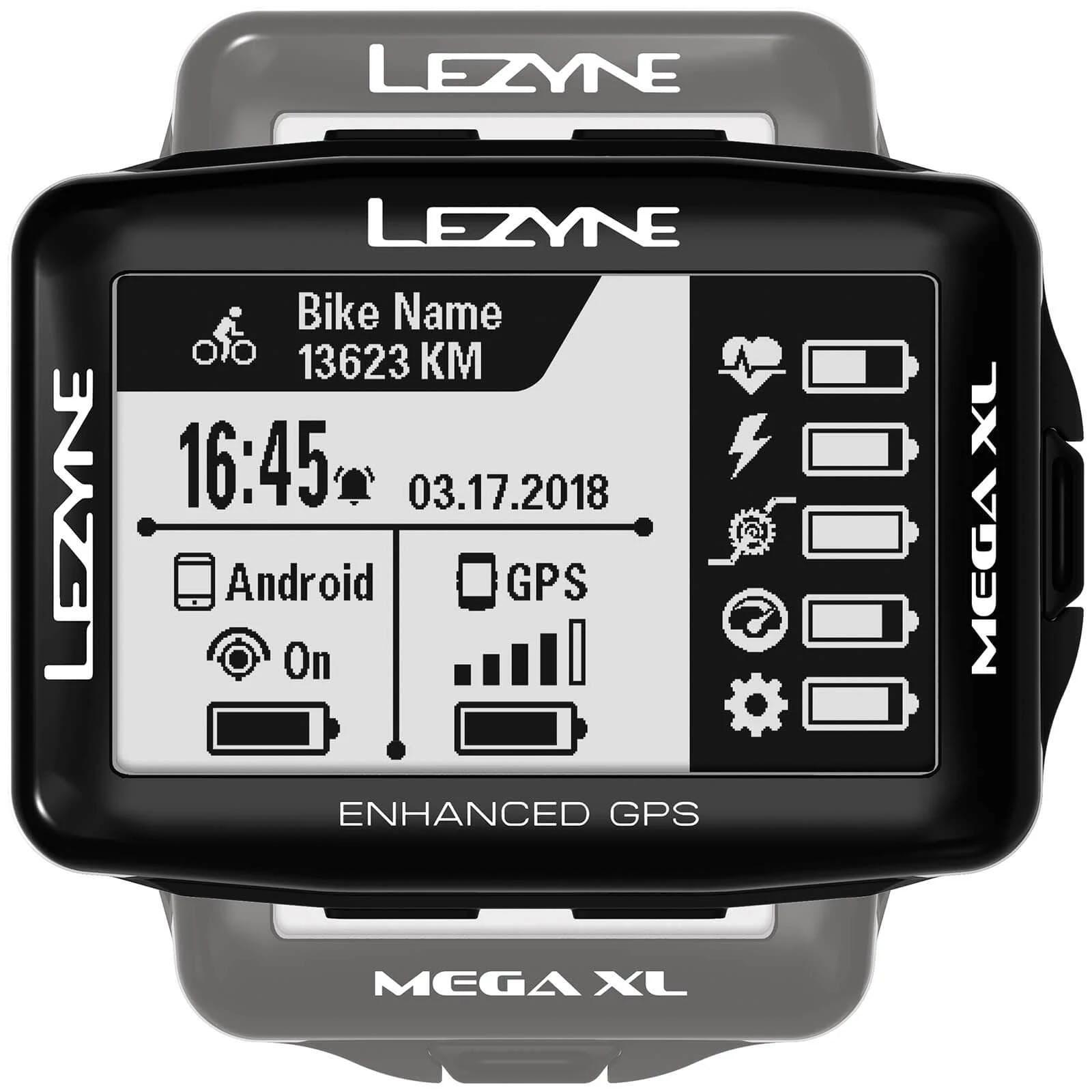 Lezyne Mega XL GPS Computer Black