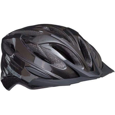 Diamondback Recoil Mountain Bike Helmet Fits heads 52-56cm, Large - Gloss Black