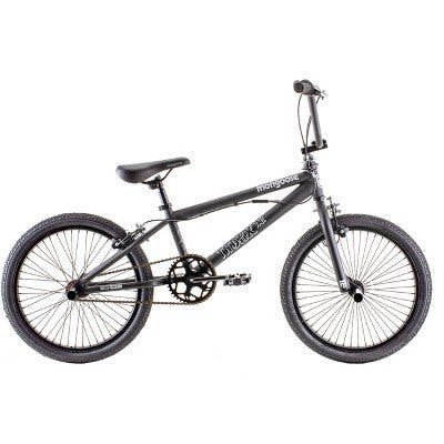 "Mongoose Index 1.0 20"" Freestyle Bike- Black"