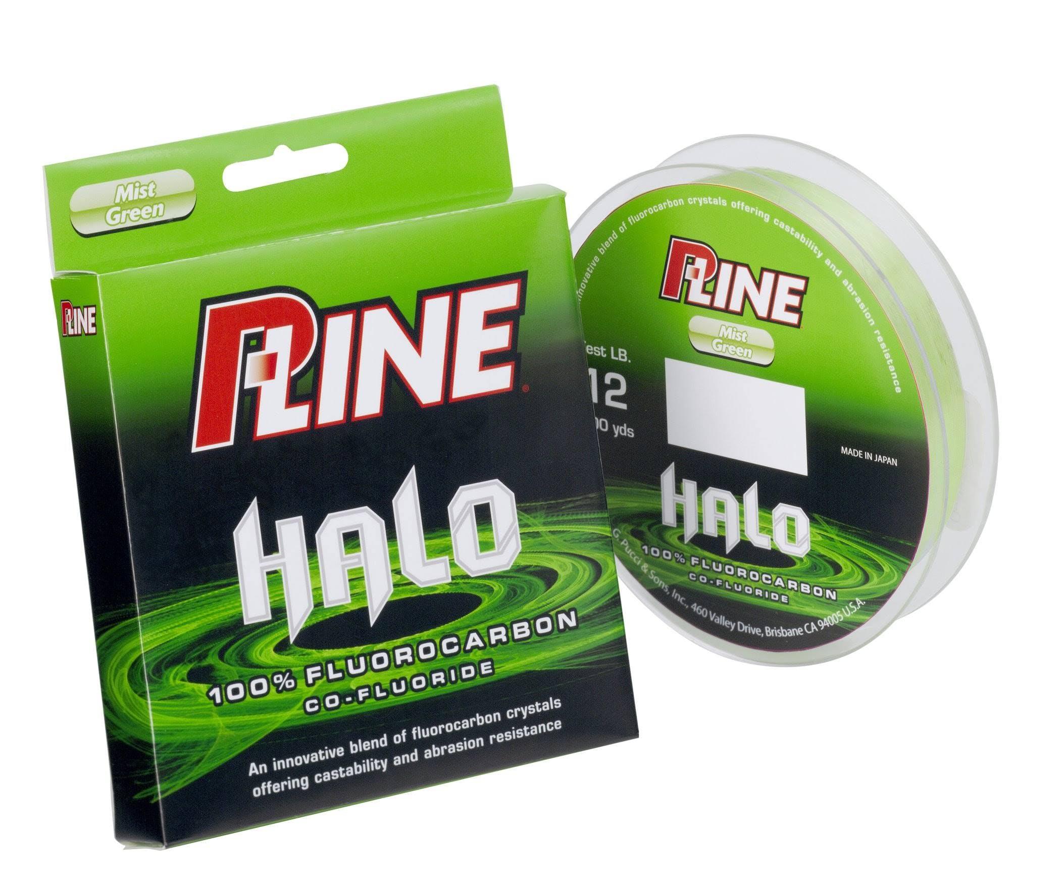 P-Line Halo Fluorocarbon Fishing Line, Green