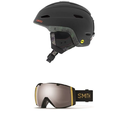 Giro Zone MIPS Helmet + Smith I/O Goggles