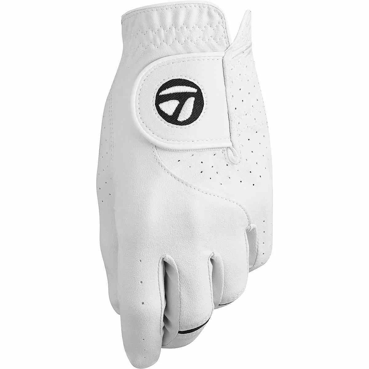 TaylorMade Stratus Tech Left Golf Glove - White XL Cadet