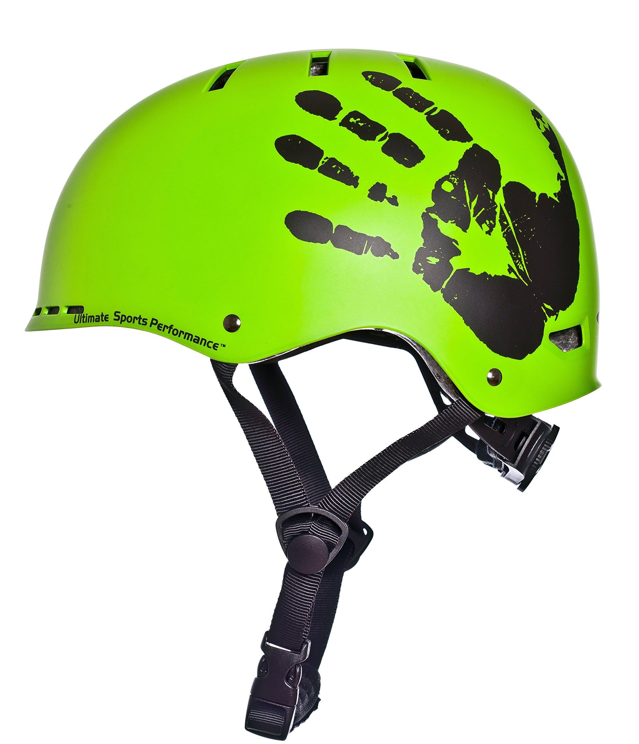 Sport Direct/™ The Hand/™ BMX Helmet Green 55-58cm
