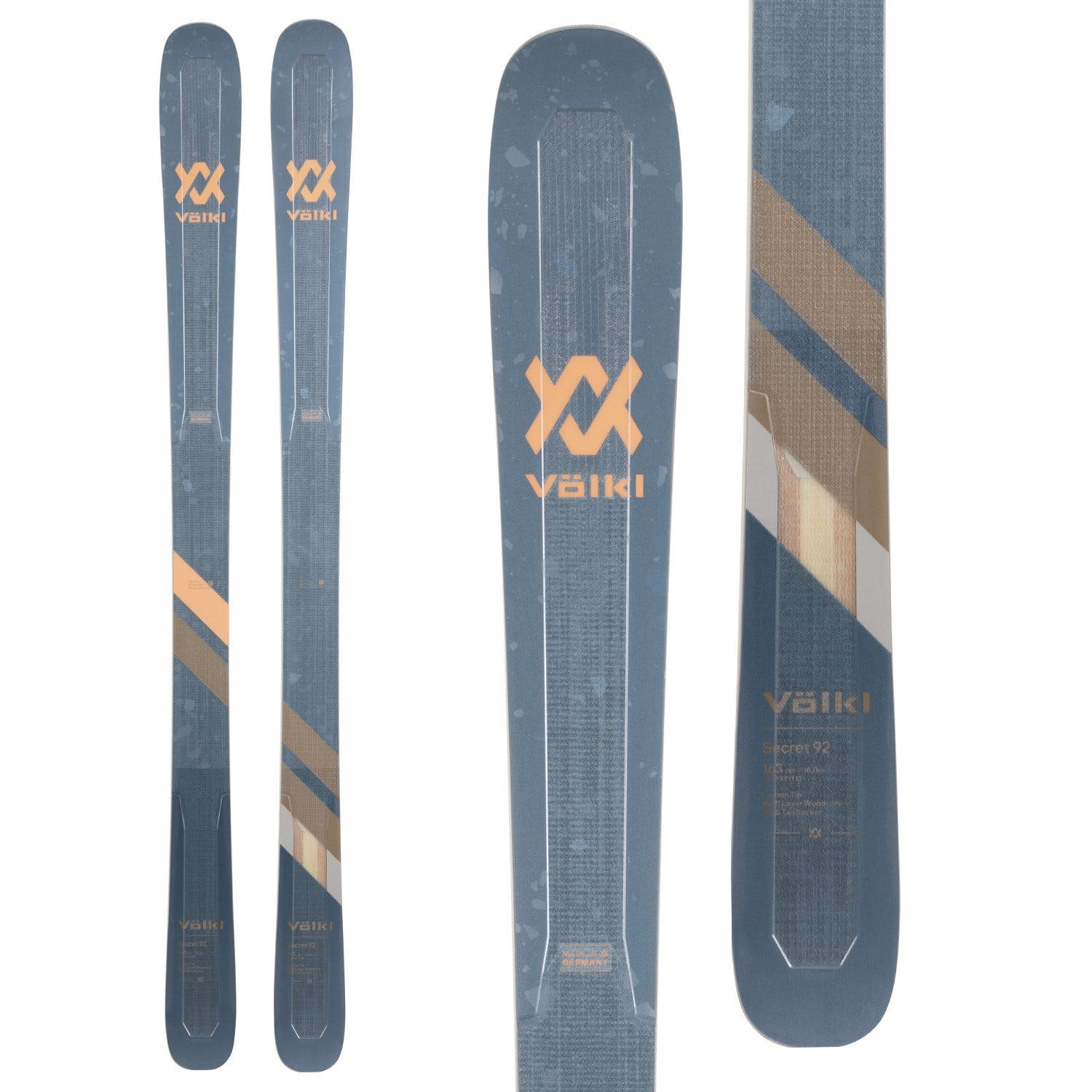Völkl Women's Secret 92 Flat Skis · 2021