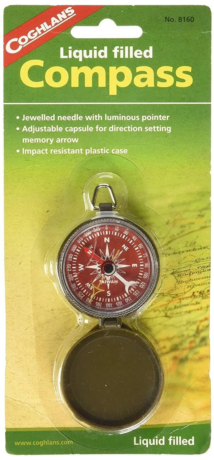 Coghlans Liquid Filled Pocket Compass