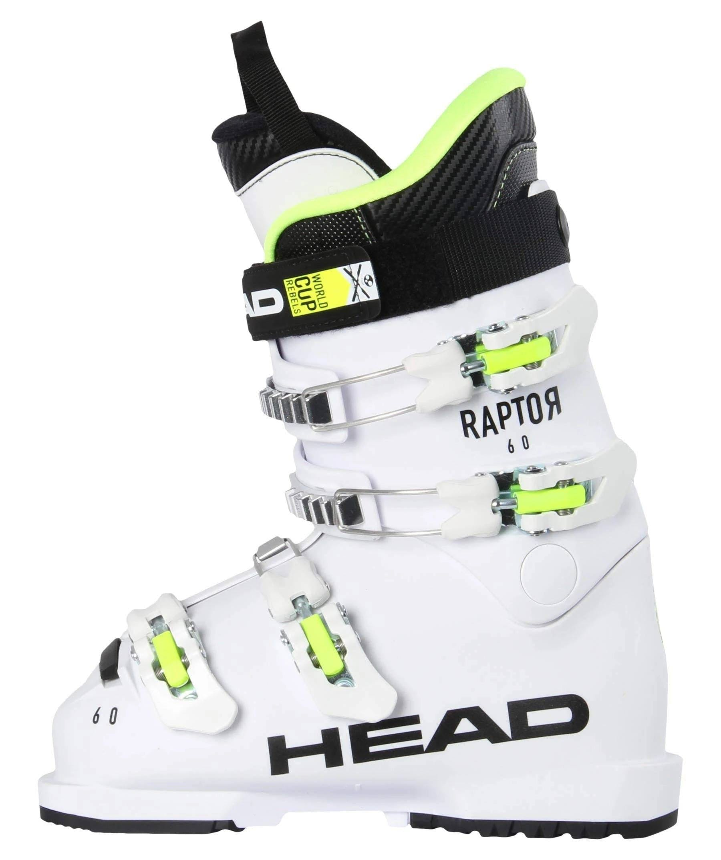 Head Raptor 60 Ski Boots Kids  White · 2020