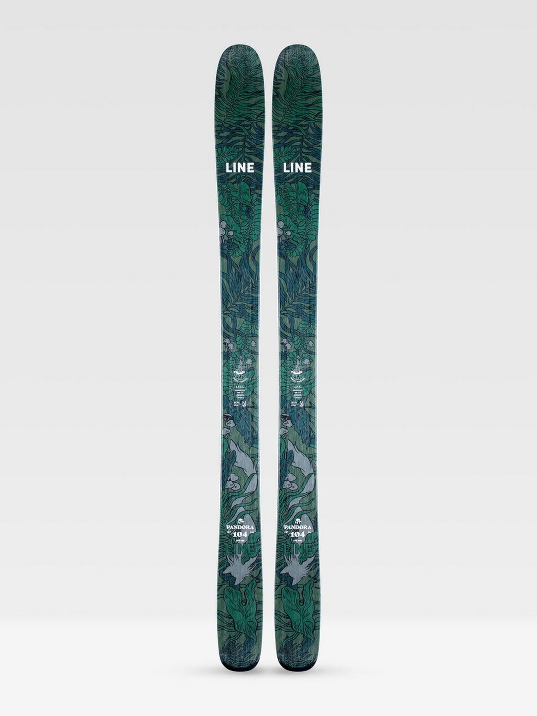 Line Pandora 104 Skis · 2021