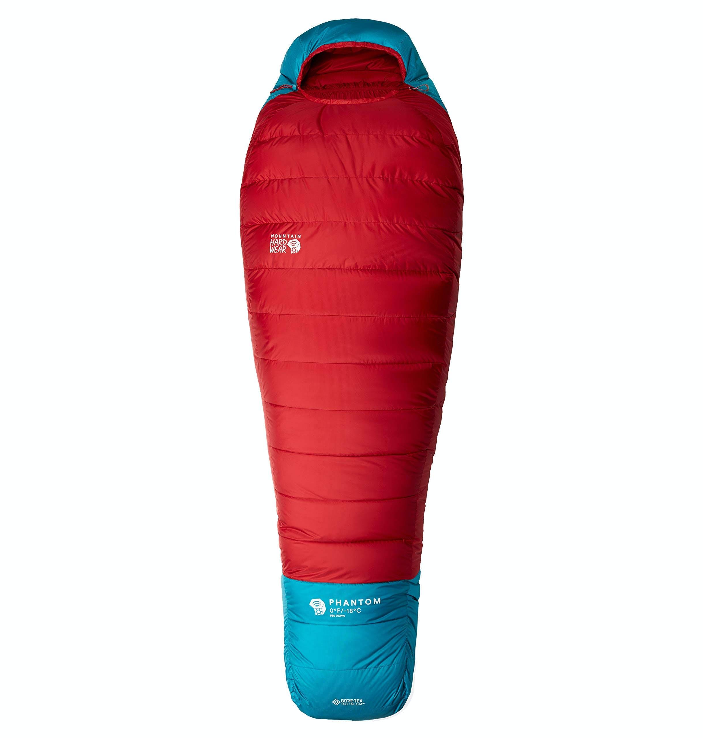 Mountain Hardwear Phantom Gore-Tex -18C Long Left Sleeping Bag Red