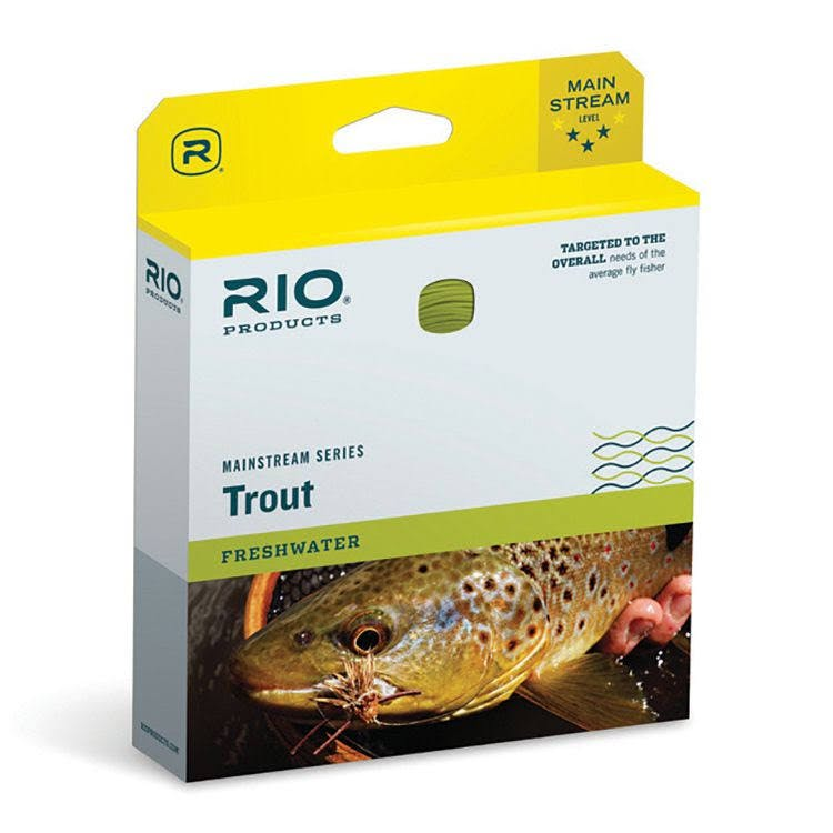 Rio Mainstream Type 3 Full Sink Fly Line - Brown