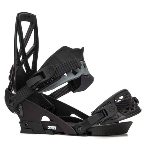 Ride Capo Snowboard Bindings  Black Medium · 2020
