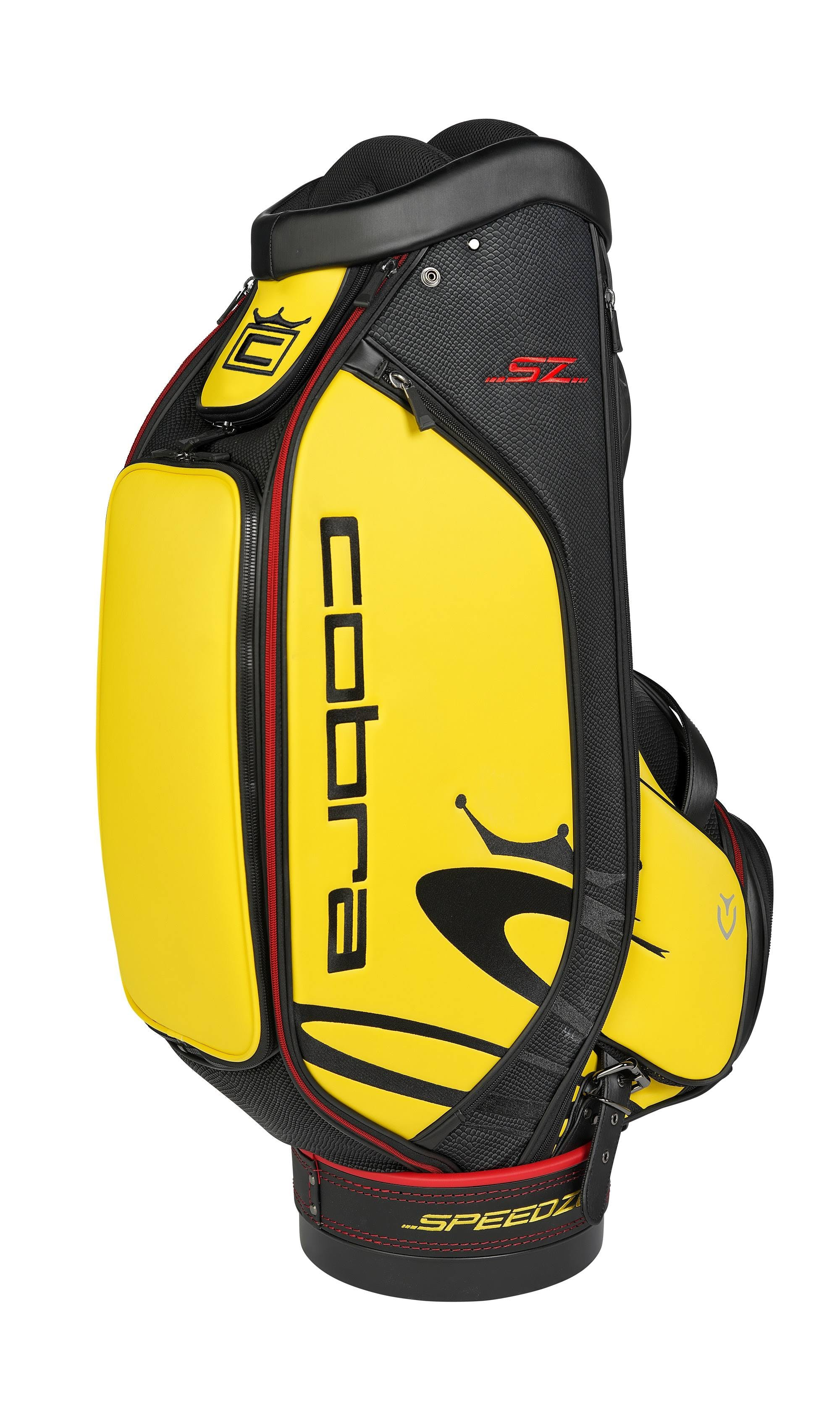Cobra Golf 2020 Speedzone Staff Bag (Black-Yellow)