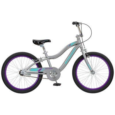 "Schwinn Astrid 20"" Kids' Bike · Gray"