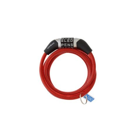 Cable Lock 4 Non Reset Red
