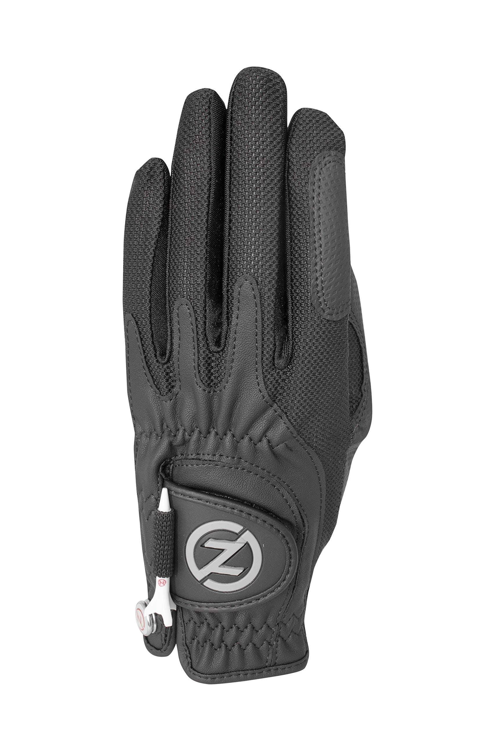 Zero Friction Ladies Golf Glove, Left Hand, One size, Black