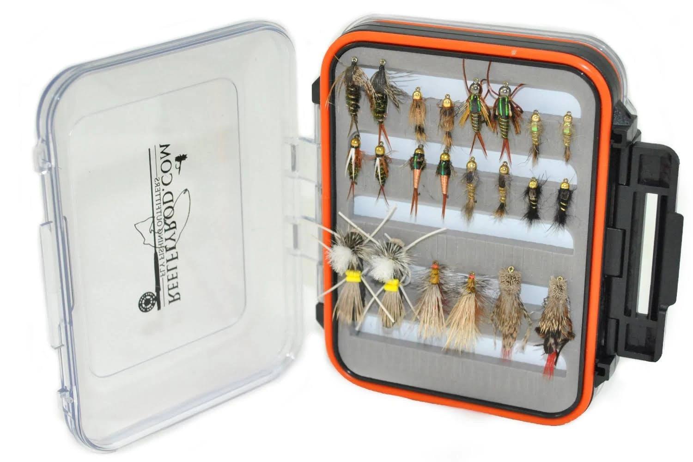 ReelFlyRod Ultimate Hopper/Dropper Fly selection (22 Flies)