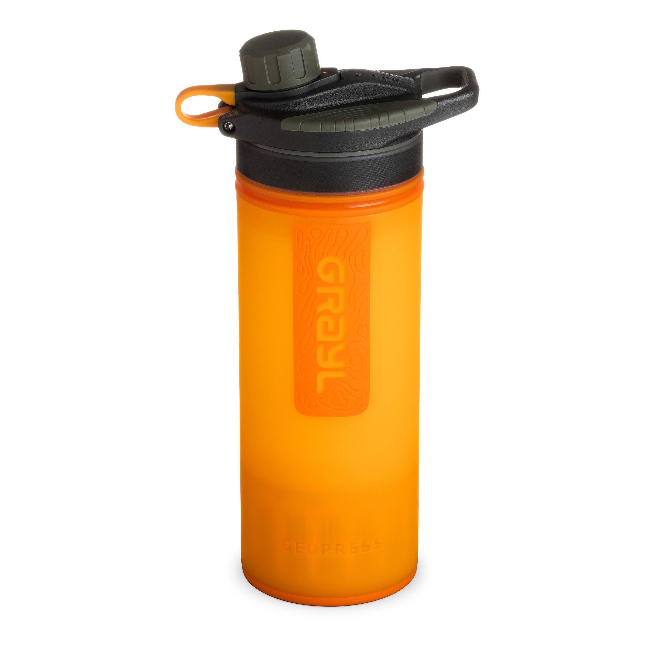 Grayl Geopress Water Purifier, Orange