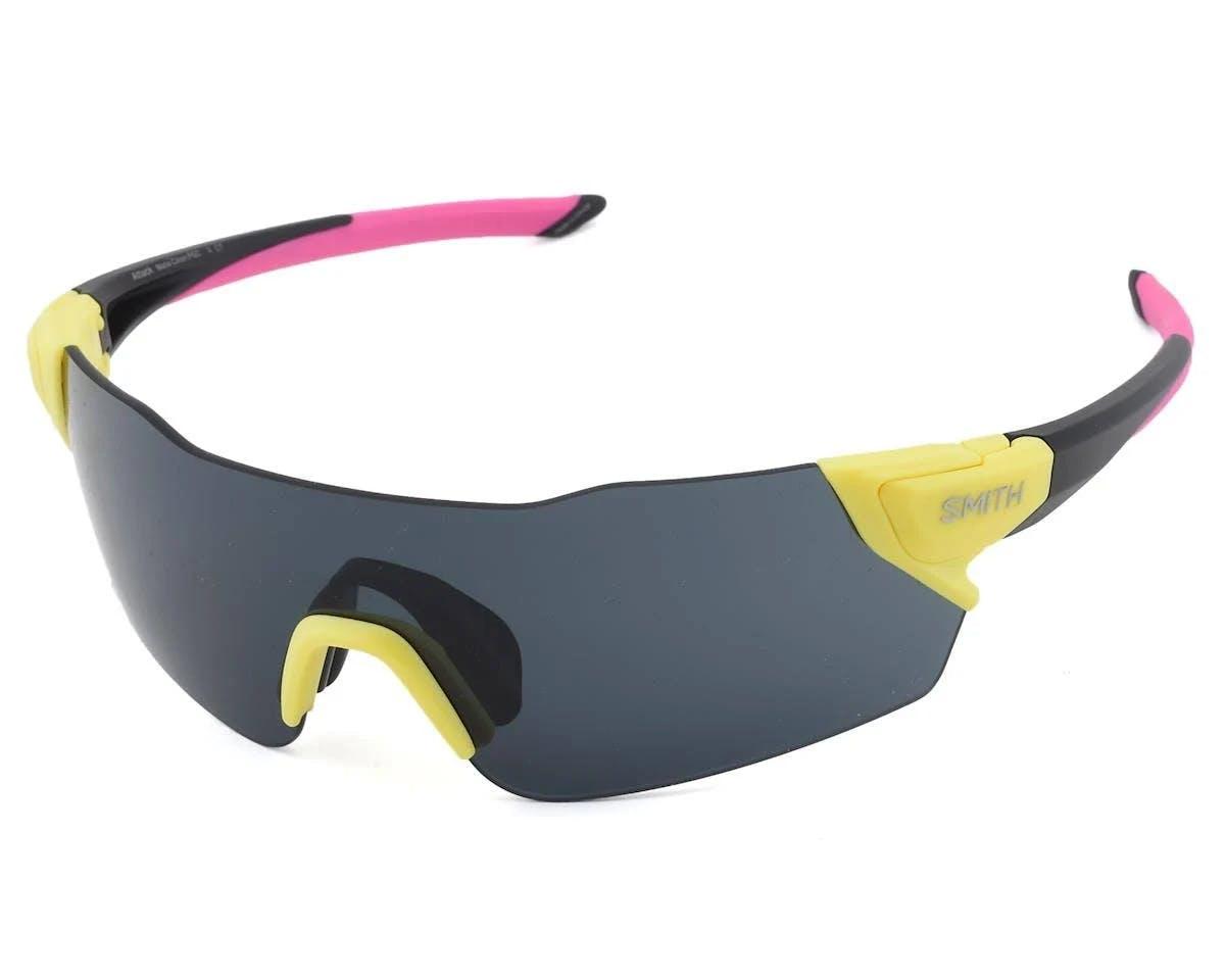 Smith Attack Sunglasses, Black Yellow