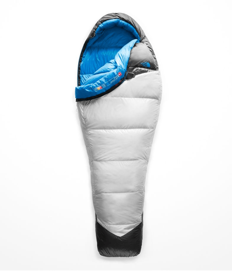 THE NORTH FACE - BLUE KAZOO BAG - LONG - RIGHT ZIP - High Rise Grey/Hyper Blue