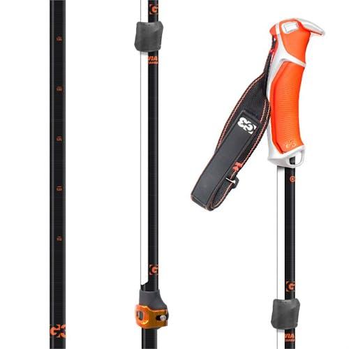 G3 Via Carbon Adjustable Ski Poles 2019