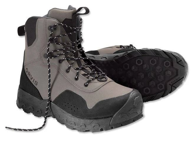 Orvis Women's Clearwater Wading Boots 7; Gravel; Rubber Sole