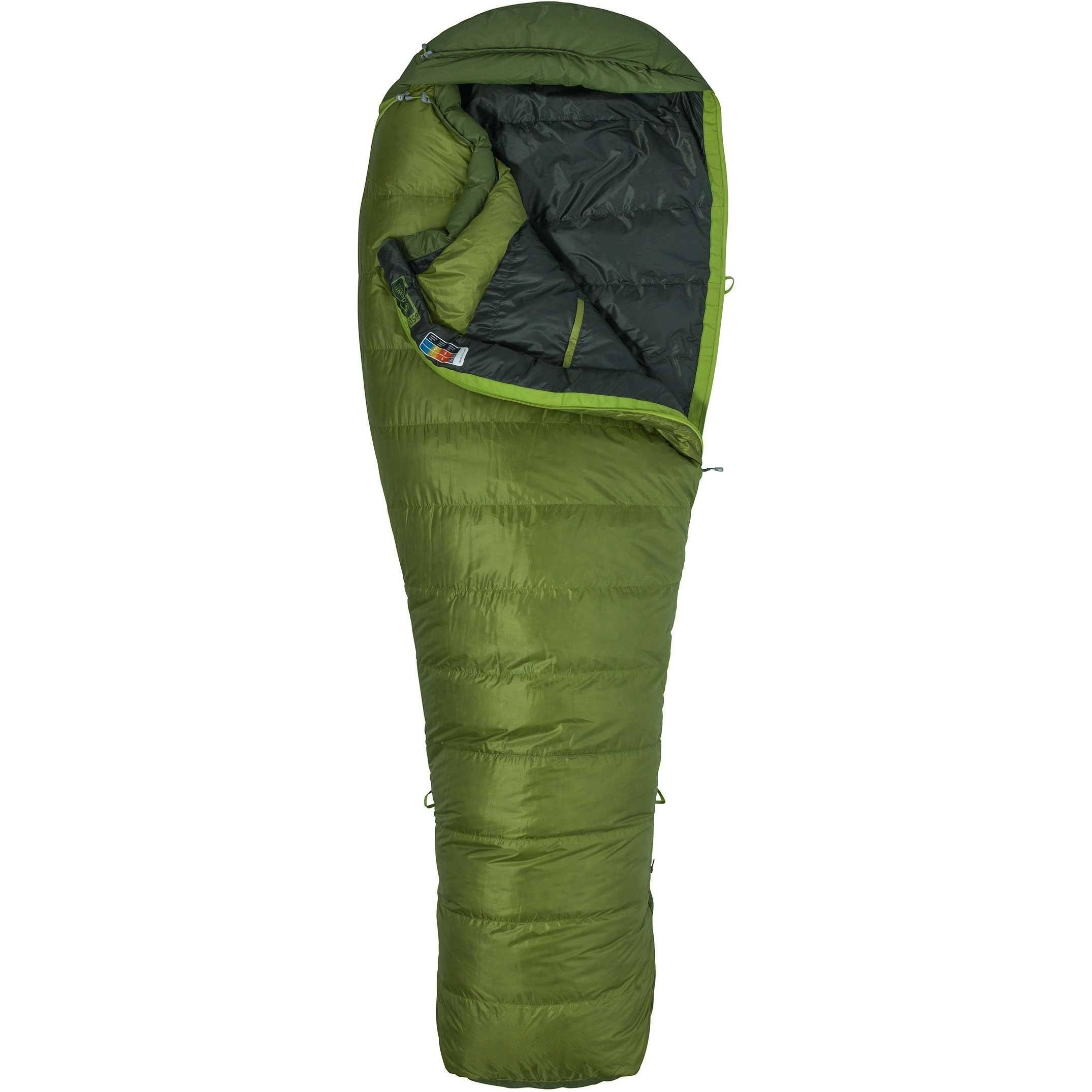 Marmot Never Winter Sleeping Bag - Cilantro Tree Green