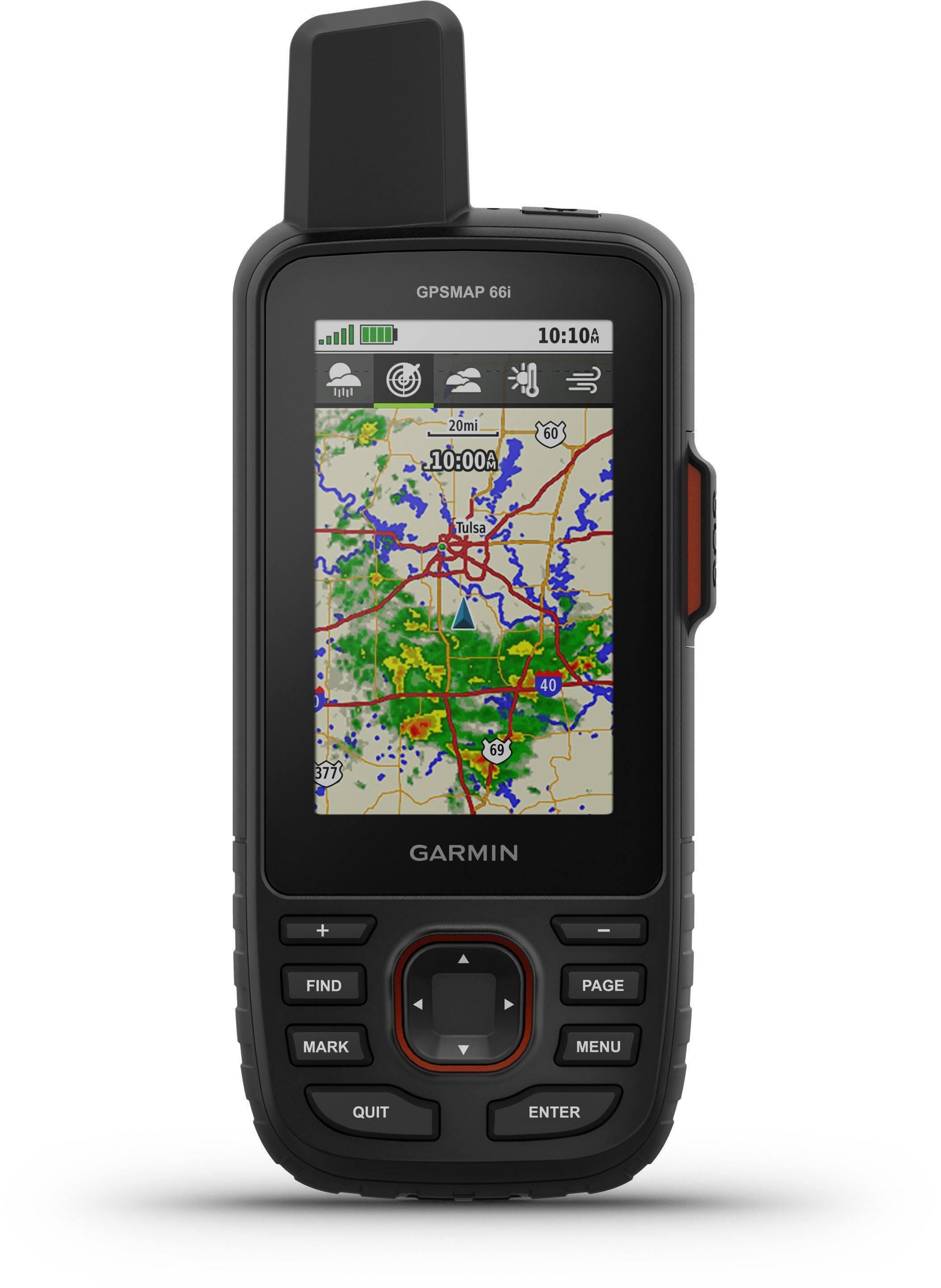 "Garmin GPSMAP 66i Hiking GPS Navigator - 3"" Display - Canada/USA"