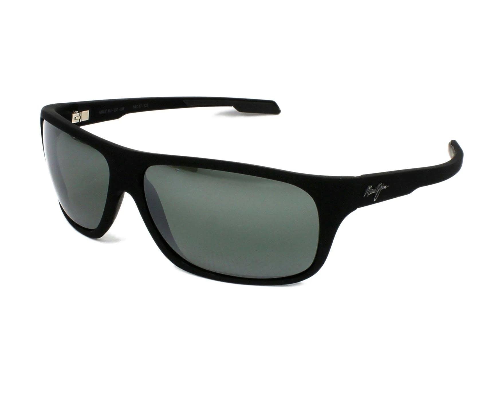 Maui Jim Island Time Sunglasses Matte Black