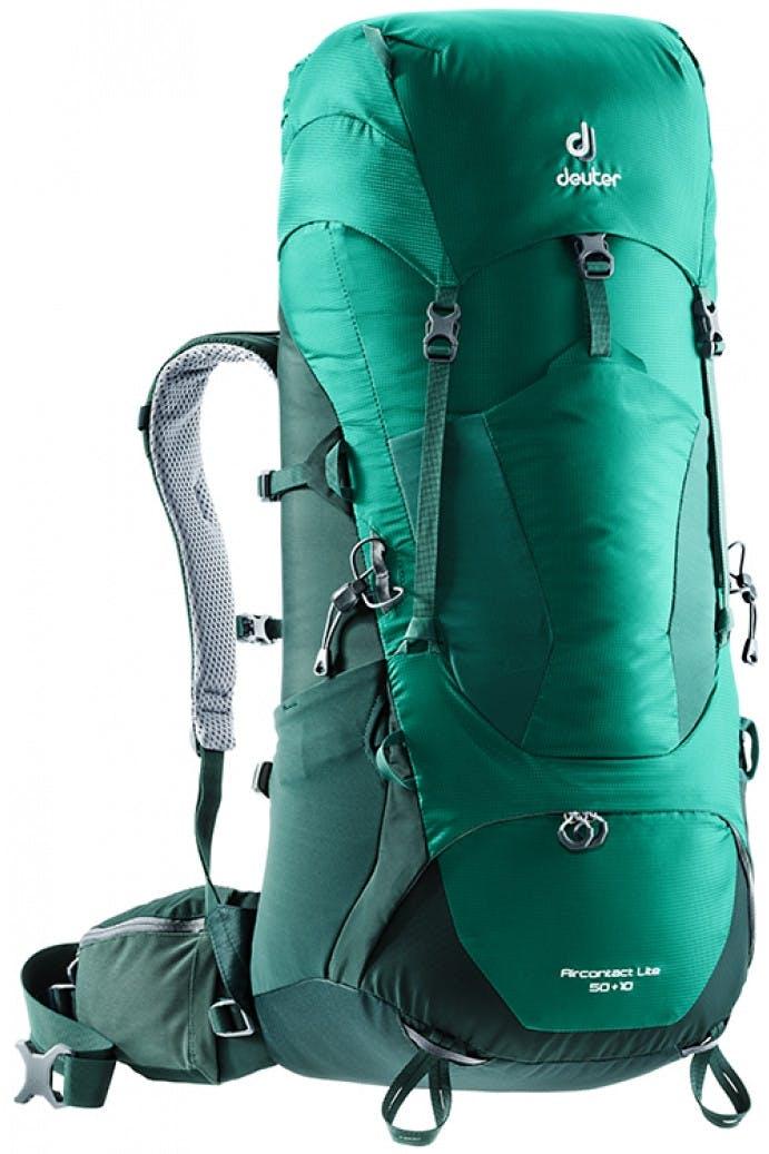 DEUTER - AIRCONTACT LITE 50 + 10 PACK - Alpinegreen Forest