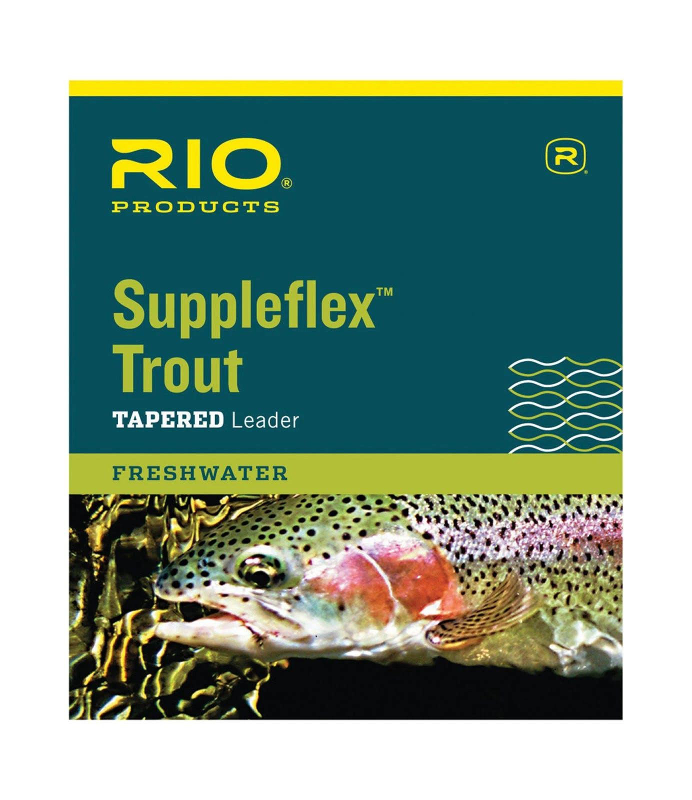 Rio Suppleflex Trout Leader 9ft / 3X