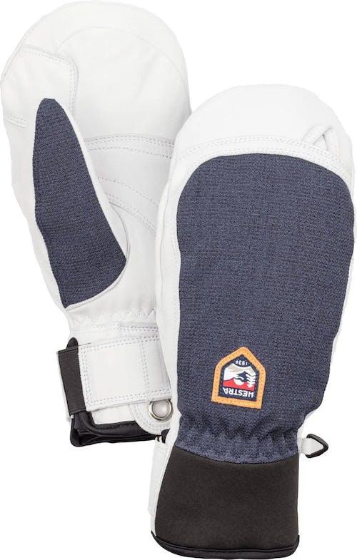 Hestra Army Leather Patrol Mitt Gloves Navy 7