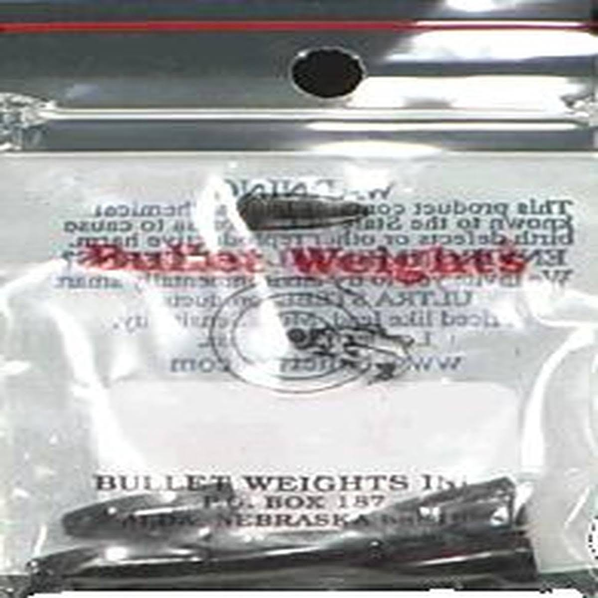 Bullet Weights Inc Paint SNKR 1/4oz Brwn 5pc Bag