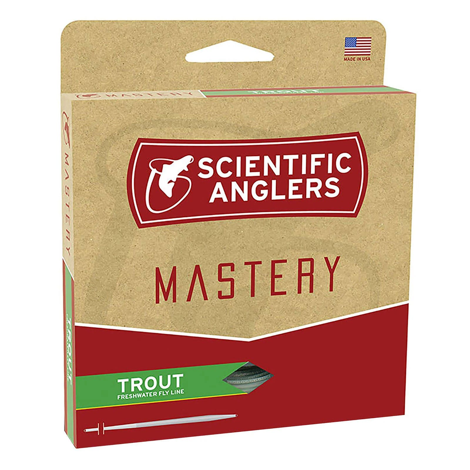Scientific Anglers Mastery Trout Fly Line - WF5F