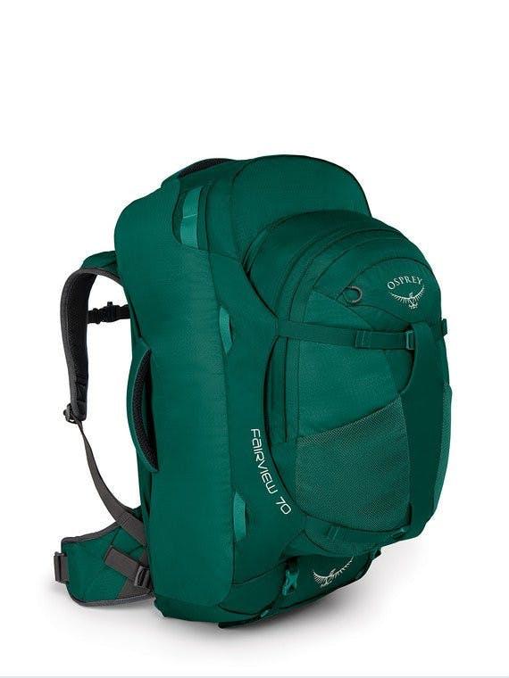 OSPREY - FAIRVEW 70 WMNS PACK - X-SMALL - SM - Rainforest Green