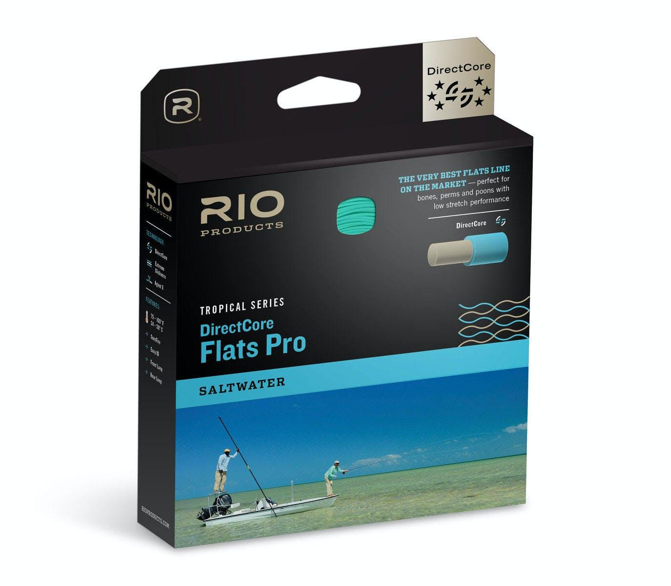 Rio DirectCore Flats Pro 15' Clear Tip WF8F/I