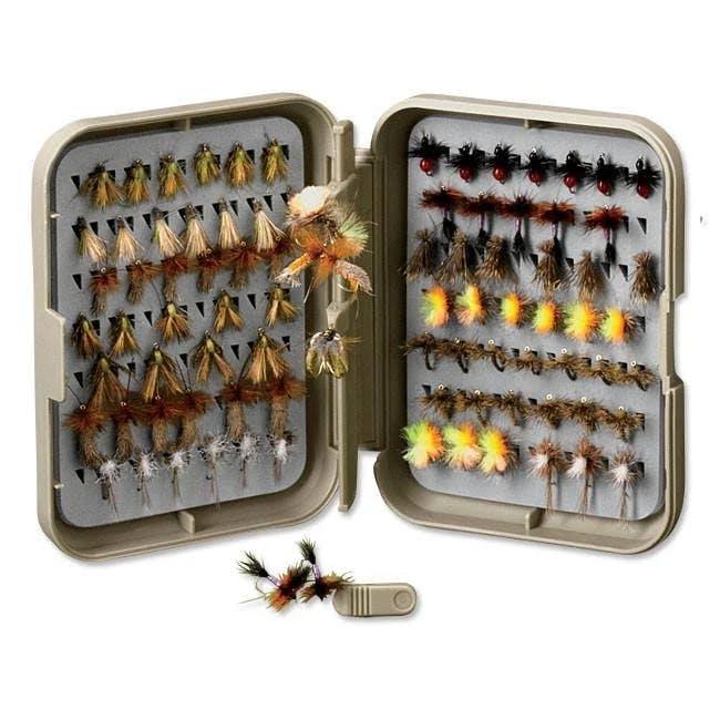 Orvis PosiGrip Threader Fly Box - Medium