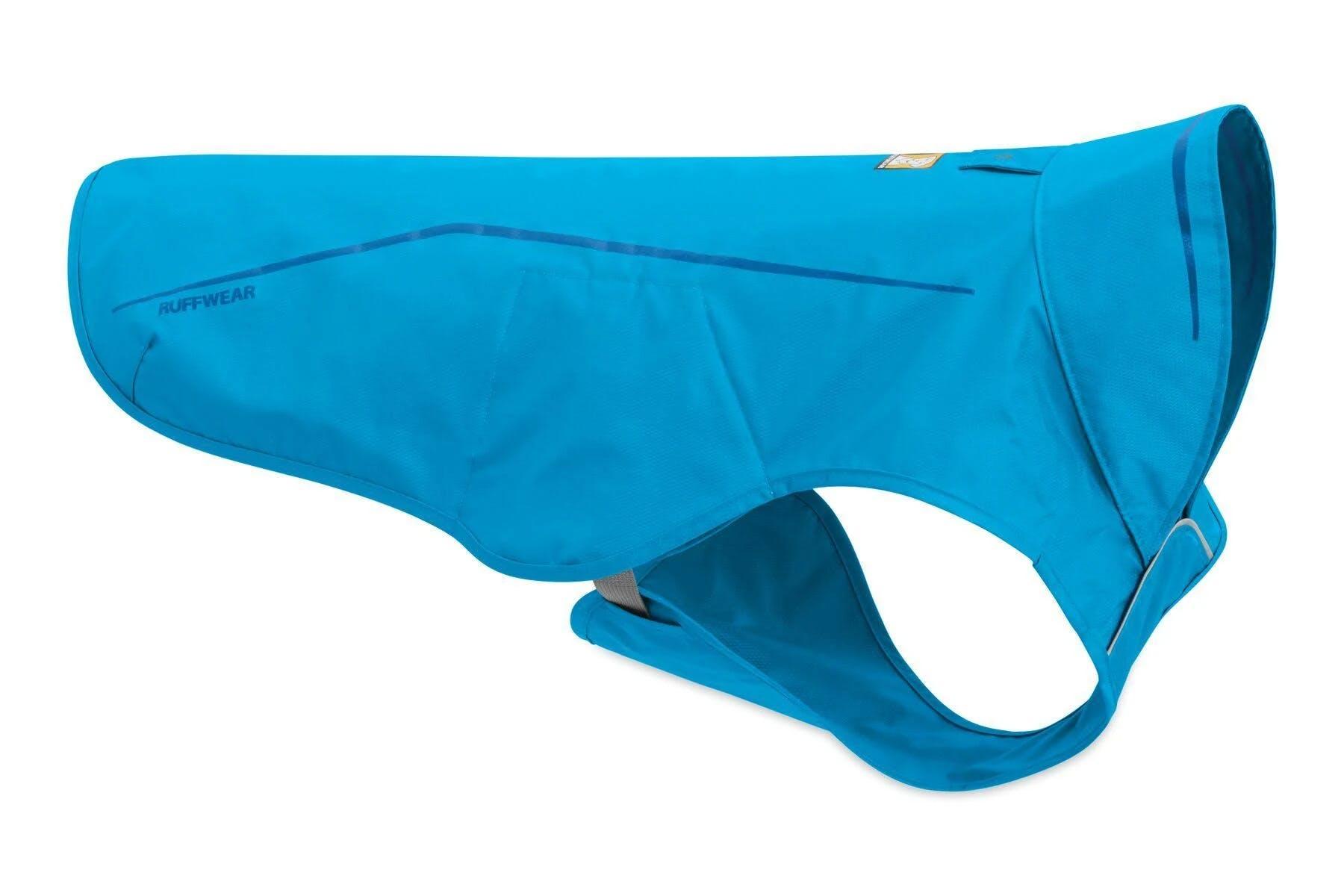 Ruffwear Sun Shower Rain Jacket Blue Dusk / Small