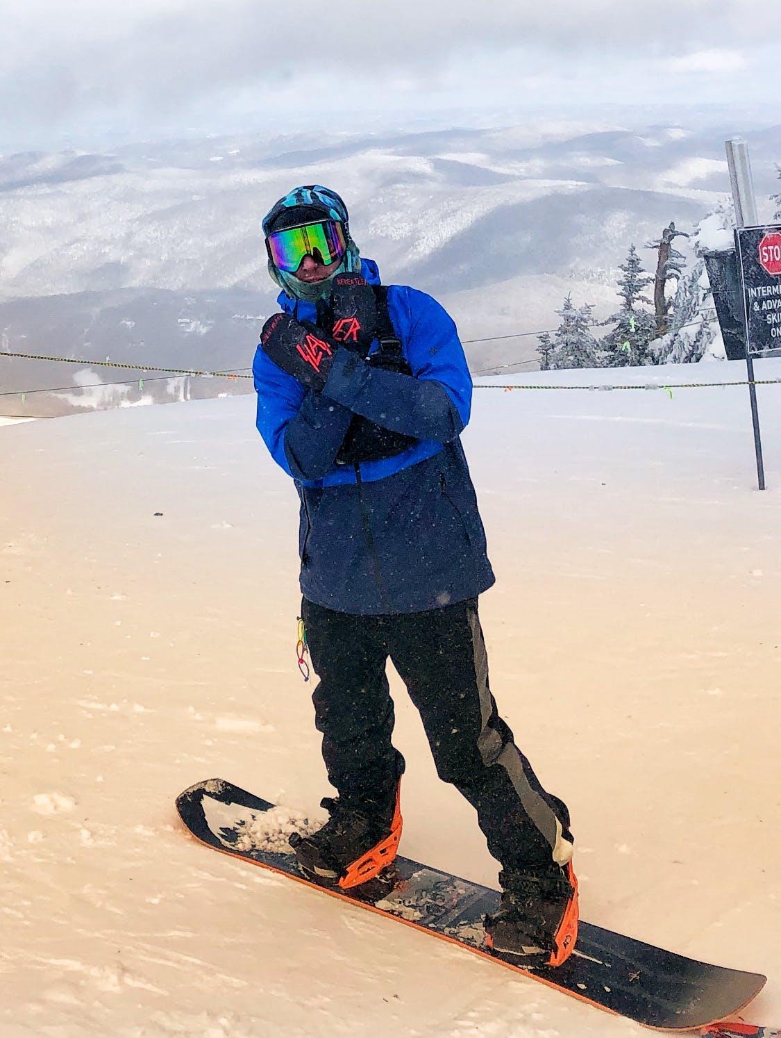 Snowboard Expert Bobby Chadderton