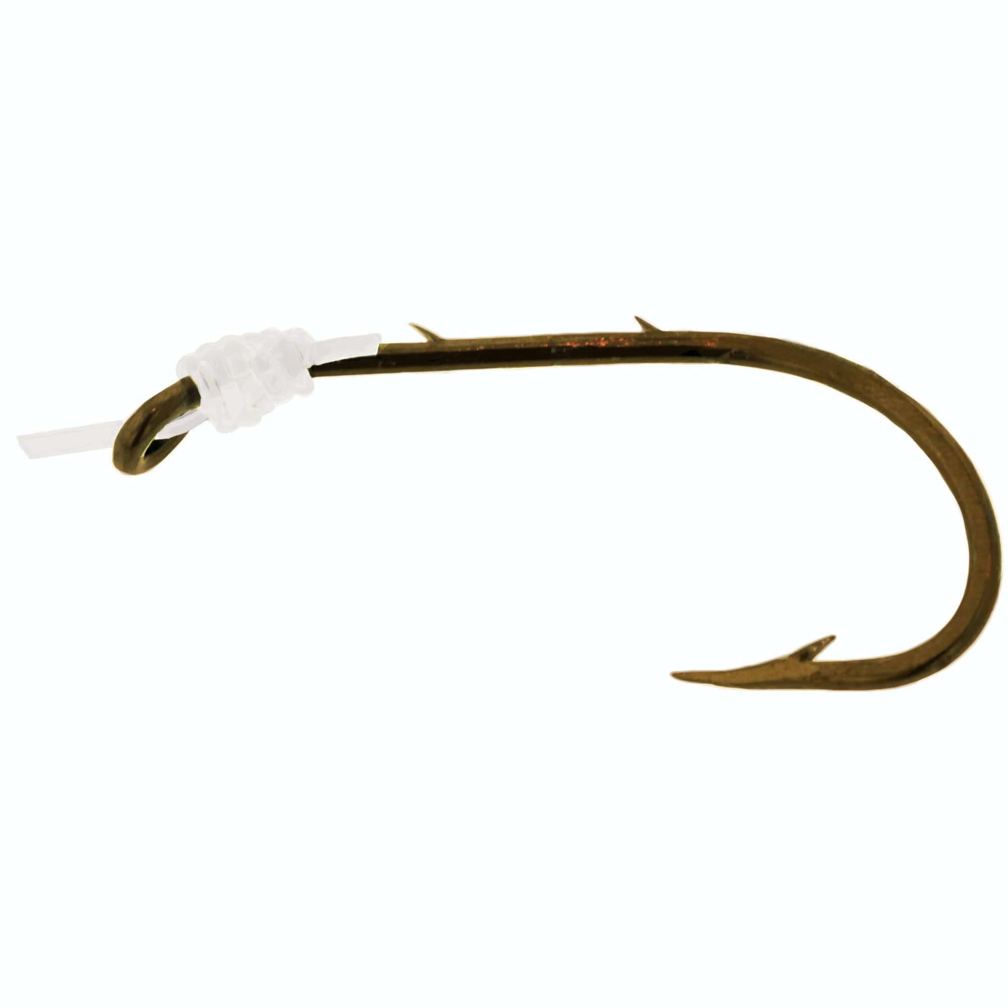 Eagle Claw Baitholder Hook, Bronze 139H-1/0