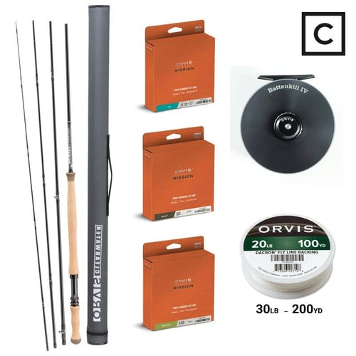 Orvis Clearwater Skagit Spey Package