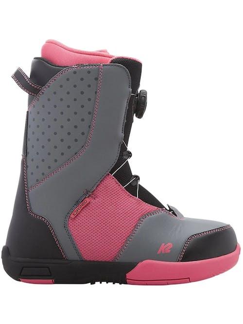 K2 KAT Snowboard Boots  Youth Girls 7 Black · 2018