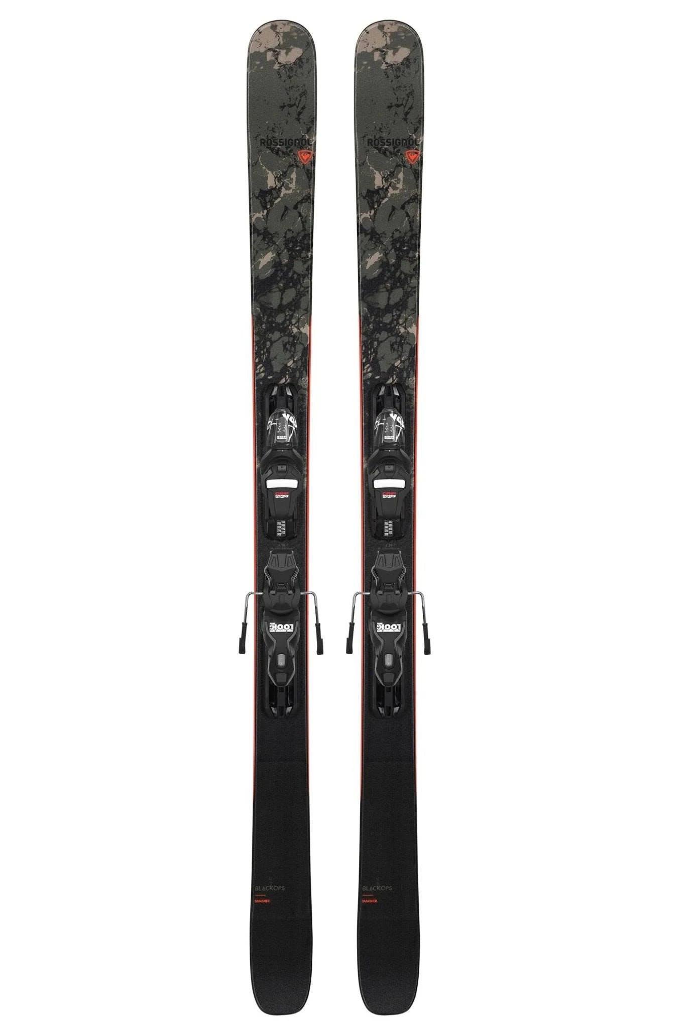 Rossignol Black Ops Smasher Skis + Xpress 10 Gw Bindings · 2021